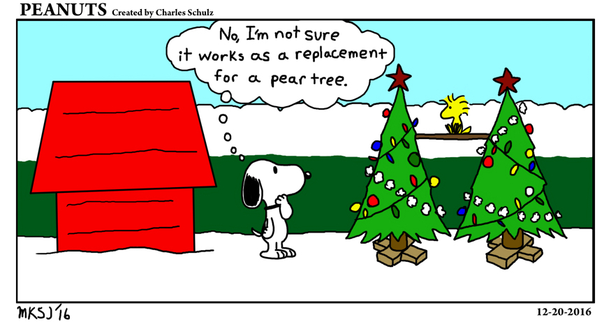 Bonus Christmas Special: Peanuts (12-20-2016)